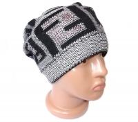 шапка женская fendi №12008, осень-зима, двойная, на флисе, китай, цвета в ассортименте 335 шапки, береты, шарфы