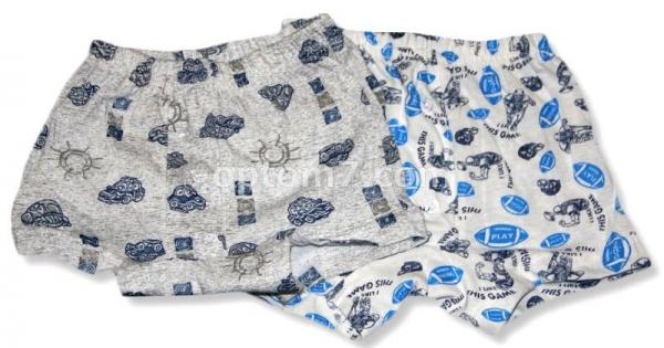 трусы-шорты для мальчика, кулир, размеры 28-34 на Барабашово оптом