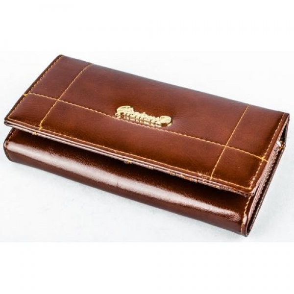 Купить кошелек женский 18х10х3см, кожзам. арт.1104 в Украине оптом