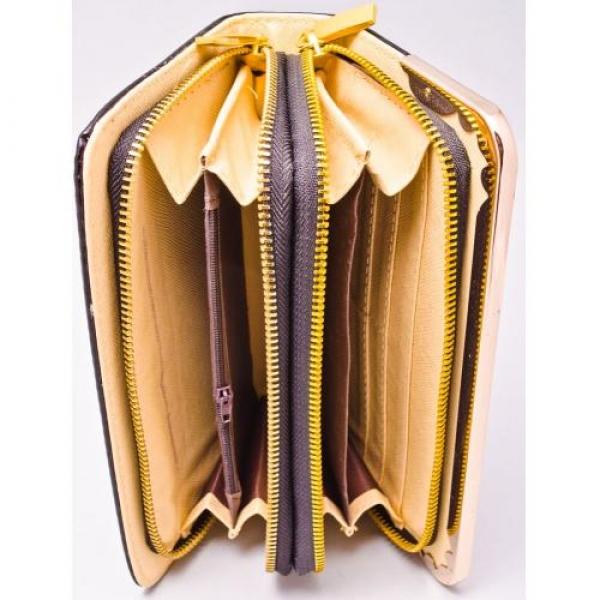 Купить кошелек женский 21х11х5см, пресскожа, две змейки. арт.1118 в Украине оптом