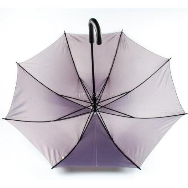 Купить зонт-трость женский полуавтомат monsoon, 8 спиц, пластиковый крюк на Барабашово оптом