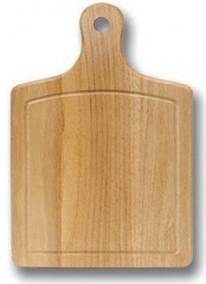 Доска кухонная деревянная 1004AU. Размер 45*30*2,5см