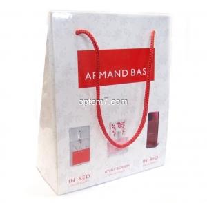 "Набор ""ARMAND BASI"", туалетная вода ""IN RED"", 15 мл., парфюмированная вода ""Lovely Blossom"", 15 мл., парфюмированная ""IN RED"", 15 мл."