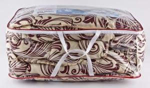 Одеяло двуспальное шерстяное, стеганое
