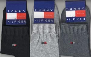 """Носки мужские демисезонные """"Tommy Hilfiger"""", размер 41-44. арт.2045"""