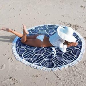 Покрывало пляжное 150 см, микрофибра