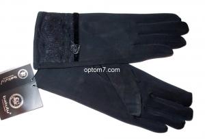 Перчатки женские Batulu №034, состав: эластик, внутри плюш, размер: 6,5-8,5, Китай