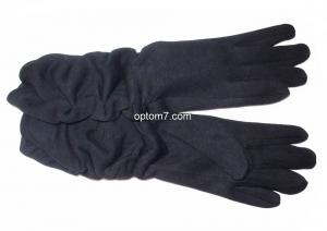 Перчатки женские Batulu №05/2 высокие, состав: кашемир, внутри плюш, размер: 6,5-8,5, Китай