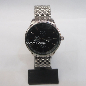 """Часы наручные мужские """"Omega"""" с тахометром, браслет, в ассортименте"""