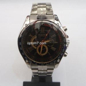"""Часы наручные мужские """"Tisot - 2"""" с тахометром, браслет, в ассортименте"""