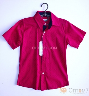 Рубашка с коротким рукавом для мальчика арт.0068