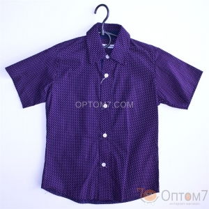 Рубашка с коротким рукавом для мальчика арт.0069