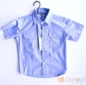 Рубашка с коротким рукавом для мальчика арт.0083