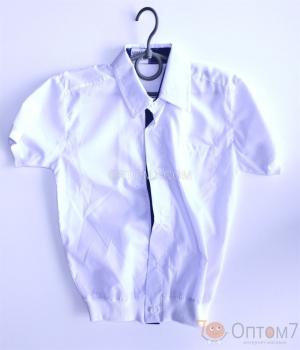 Рубашка с коротким рукавом для мальчика арт.0086