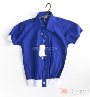 Рубашка с коротким рукавом для мальчика арт.0094