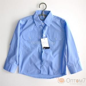 Рубашка с длинным рукавом для мальчика арт.0099