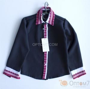 Рубашка-вышиванка с длинным рукавом для мальчика арт.0124
