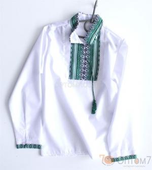 Рубашка-вышиванка с длинным рукавом для мальчика арт.012
