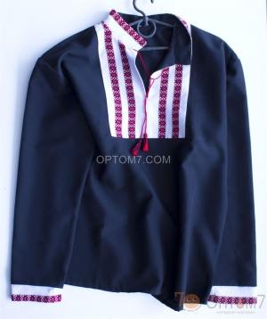 Рубашка-вышиванка с длинным рукавом для мальчика арт.0130
