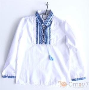 Рубашка-вышиванка с длинным рукавом для мальчика арт.0132
