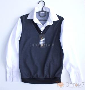 Рубашка-обманка для мальчика арт.0151