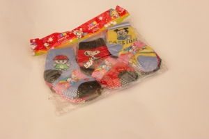 Носки детские демисезонные, на 1-3 года, хлопок. Упаковка 12 шт. арт.1180