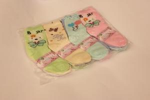 Носки для девочки, р.23-26, хлопок