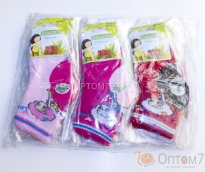 Носки для девочки на 1-3, 4-7, 8-12 лет