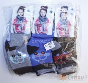 Носки для мальчика р.S на 2-3 года, M 4-6 лет, L 6-7 лет
