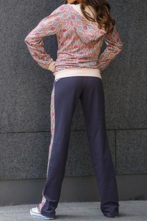 Женский спортивный костюм с принтом ( 78009/1)