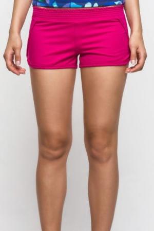 Женские шорты трикотажные, малиновые (78024/1)