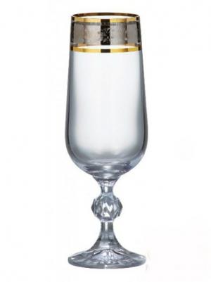 Набор бокалов для пива 280мл 6шт Bohemia Claudia  (40149-43249)