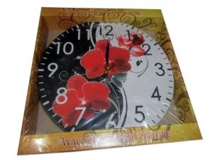 Часы-картина настенные мод.001 (250х250 мм). арт.1032