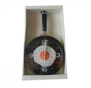 """Часы настенные """"Сковородка"""" для кухни (360х200 мм). арт.1140"""