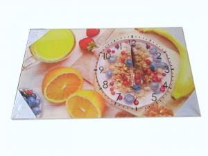Часы-картина настенные для кухни (300х400 мм). арт.1156