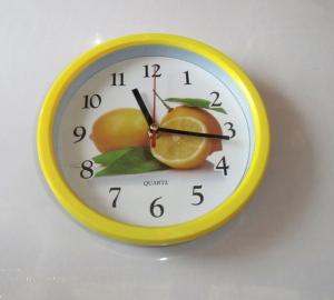 """Часы настенные """"Quartz"""" для кухни мод.6606. арт.1171"""