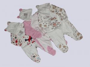 Комплект для новорожденного, р.18-22, интерлок. Украина. арт.1144