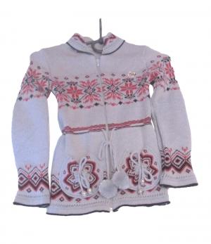 Кофта детская для девочки р.122-140, акрил. Украина. арт.1048