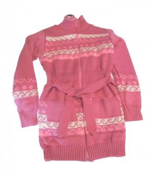 Кофта детская для девочки р.122-134, акрил. Украина. арт.1051