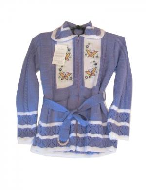 Кофта детская для девочки р.128-146, акрил. Украина. арт.1101