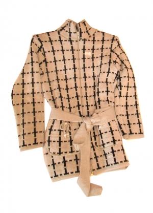 Кофта детская для девочки р.116-134, акрил. Венгрия. арт.1110