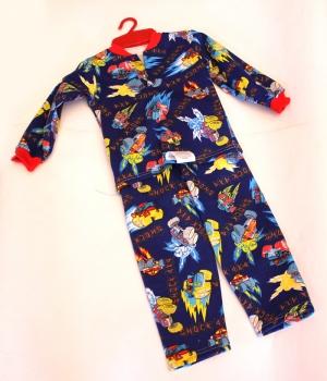 Пижама для мальчика р.26-34, кулир. Украина. арт.1001
