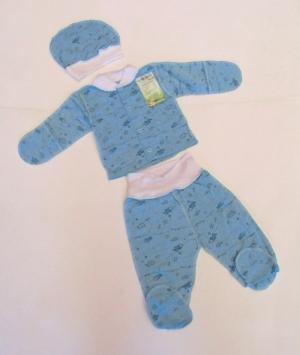 Комплект для новорожденного, байка. Украина. арт.1080