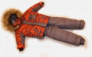 Зимний костюм для мальчика р.1,2,3,4 плащевка. Украина. арт.1006