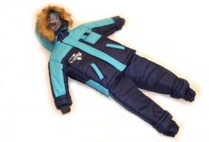Зимний костюм для мальчика р.1,2,3,4 плащевка. Украина. арт.1013