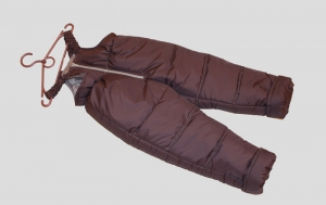 Зимние детские штаны, плащевка. Украина. арт.1014