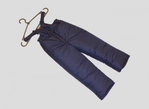 Зимние детские штаны, плащевка. Украина. арт.1015