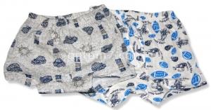 Трусы-шорты для мальчика, кулир, размеры 28-34