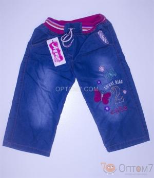Джинсы для девочки на 3-7 лет арт.0017