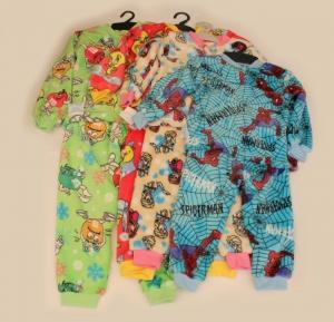 Пижама детская, махровая, р.26-32. Украина. арт.1044